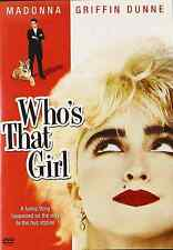 WHO'S THAT GIRL New Sealed DVD Madonna, Free Shipping