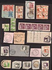 Palestine 1920's -40's Spécialisé Collection De 130+Plus Avec Full Annulés Sur