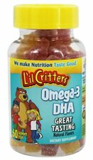 LIL CRITTERS GUMMY FISH OMEGA3 Size: 60