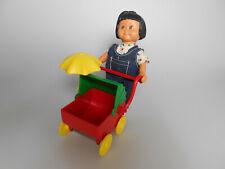 Lego® Puppe mit Kinderwagen