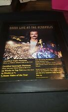 Yanni Live At Acropolis Rare Original Promo Poster Ad Framed!