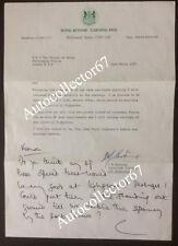 ORIGINAL Prince Charles signed autograph handwritten note 1987 Highgrove Kew
