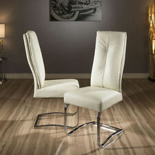 Unbranded Leather Modern Chairs 2 Pieces