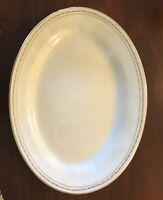 "Homer Laughlin Genesee Platter. Great Shape!  11.5"" X 8.5"""