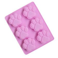 Silicone 3D Dog Cat Paw Fondant Cake Chocolate Mold Mould Modelling Decorating