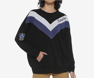Harry Potter Ravenclaw Chevrons Girls Sweatshirt Sz S