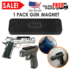 Gun Magnet Mount 43 lbs Pistol Rifle Magnetic Holder Car Holster Home Under Desk