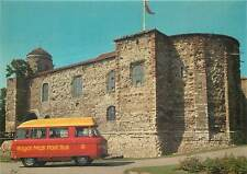 Postcard Royal Mail Colchester Post bus