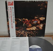 Curtis Mayfield Give, Get, Take And Have Japan LP 1993 CEJC-1005 Insert Obi