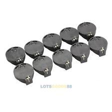 10pcs Portable CR2032 CR2025 General Button Battery Clip Holder Box Case LS4G