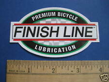 FINISH LINE LUBE  Mountain Bike Bicycle DECAL STICKER