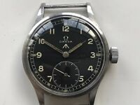 "WW2 OMEGA 30T2 WWW BRITISH MILITARY WATCH  ""Dirty Dozen"""