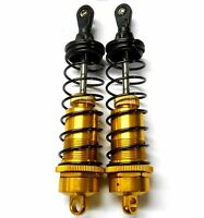 T81003-1Y 1/8 Scale Buggy RC Shock Absorber Damper x 2 110mm Long HSP Yellow