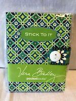 Vera Bradley 'Daisy Daisy' - 'Stick To It' Notepad 150 Sticky Notes in 3 Sizes