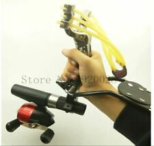 Hunting Fishing Slingshot Shooting Catapult Bow Arrow Rest Bow