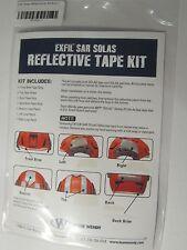 EXFIL SAR SOLAS REFLECTIVE TAPE KIT FOR TEAM WENDY TACTICAL HELMET COAST GUARD