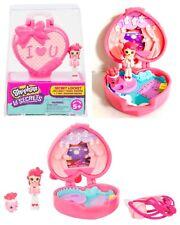 Shopkins Lil' Secrets Secret Locket Teeny Shoppies Doll Heart Micro Play Set 4pc
