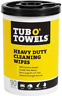 """Tub O Towels Strong Cleaning Wipes Heavy-Duty 10"""" x 12"""" Multi-Surface 90 Count"""