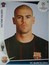 Panini 346 Victor Valdes FC Barcelona UEFA CL 2009/10