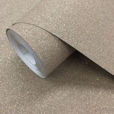 Rollos de papel pintado liso de color principal marrón sin anuncio de conjunto