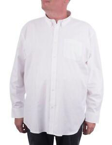 Maracheno Premium Oxford Shirt, White, XXL-8XL