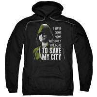 Arrow TV Show ONE GOAL SAVE MY CITY Green Arrow Licensed Sweatshirt Hoodie