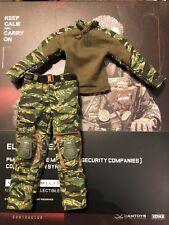 DAMTOYS cíborgs contratista privado en Siria combate camisa y pantalones sueltos escala 1/6th