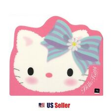 Sanrio Hello Kitty Computer Mouse Pad : Blue Daisy Ribbon Hello Kitty