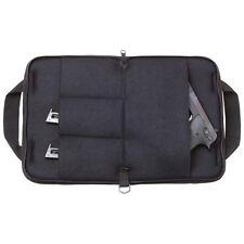 "Black Soft Padded 12"" Pistol Rug Hand Gun Case Sprug3 Classic Safari"