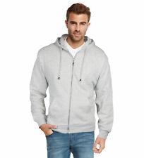 9 Crowns Men's Full Zip Lightweight Hooded Sweatshirt Fleece Hoodie