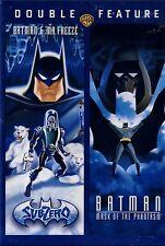 NEW DVD //  BATMAN & MR FREEZE +  MASK OF THE PHANTASM // 2FULL LENGTH  FEATURES