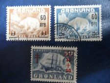 Stamps,Greenland, Sc#39-40, B1, used