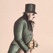 1831 R. Ackermann Colored Lithograph Antique Print