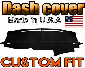 Honda Pilot 2016-2019 Velour Dash Board Cover Mat Black