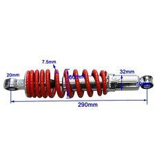 290mm 7.5mm Rear Shock Absorber Shocker Suspension Spring ATV QUAD PIT DIRT BIKE