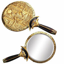 Egyptian Mirror Royalty Decor Pharoah or Goddess with Aegis Hand Mirror #5785
