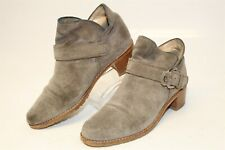 ef524ed9abd New ListingStuart Weitzman Womens 5.5 M Suede Pull On Heels Spain Made Ankle  Boots 4085451