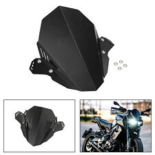 Windscreen Windshield Shield Protector Black For YAMAHA FZ 09 MT 09 2017-2020