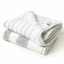 Japanese Imabari Bath Towel 2 pcs set Cotton 100% 125 x 65cm Gray 4571349460320