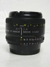 Nikon  50mm f1.8 AF D Digital SLR Prime lens for Nikon F mount -