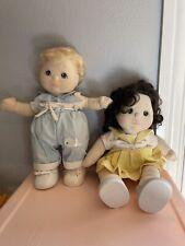 Vintage 1985 Mattel My Child Doll Lot Boy And Girl Sailor