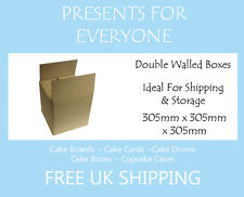 "10 x Shipping & Moving Boxes Storage Boxes 12"" x 12"" x 12"" Inches"