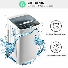 Portable Washing Machine Compact  Full-automatic Mini Washer Machine Spin Dryer