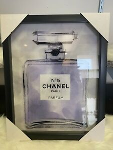 CHANEL  decor Canvas Art Chanel No.5 picture 15in x 12in