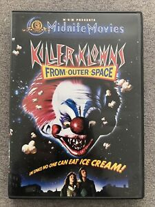 DVD - KILLER KLOWNS FROM OUTER SPACE -