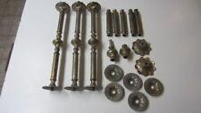 Vintage Cast Metal Table Legs / Lamp Spacers for Parts, Repair & Refurbishing