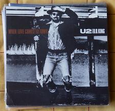 "U2 with BB KING 7"" promo vinyl When Lord Comes to Town 45 giri 1988 BONO USA"