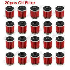 20x Oil Filter For Yamaha YZ YBR YFM WR 250 450 WR250R YFZ450X YFZ450R HUSQVARNA