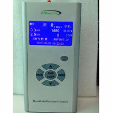New Handheld Portable Particle Counter PM2.5 0.3um 2.5um Unit Pieces/Liter