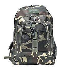 East West U.S.A Classic Camo School Miltary Backpack Book Bag BC104-CAMO